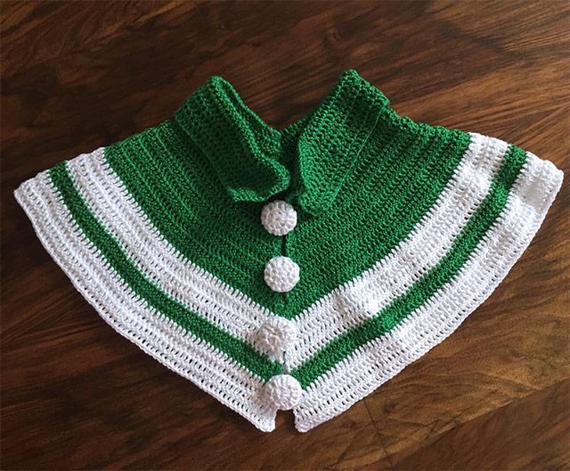 1930s crochet collar