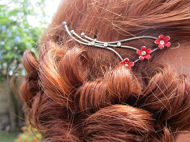 1930s hair clip
