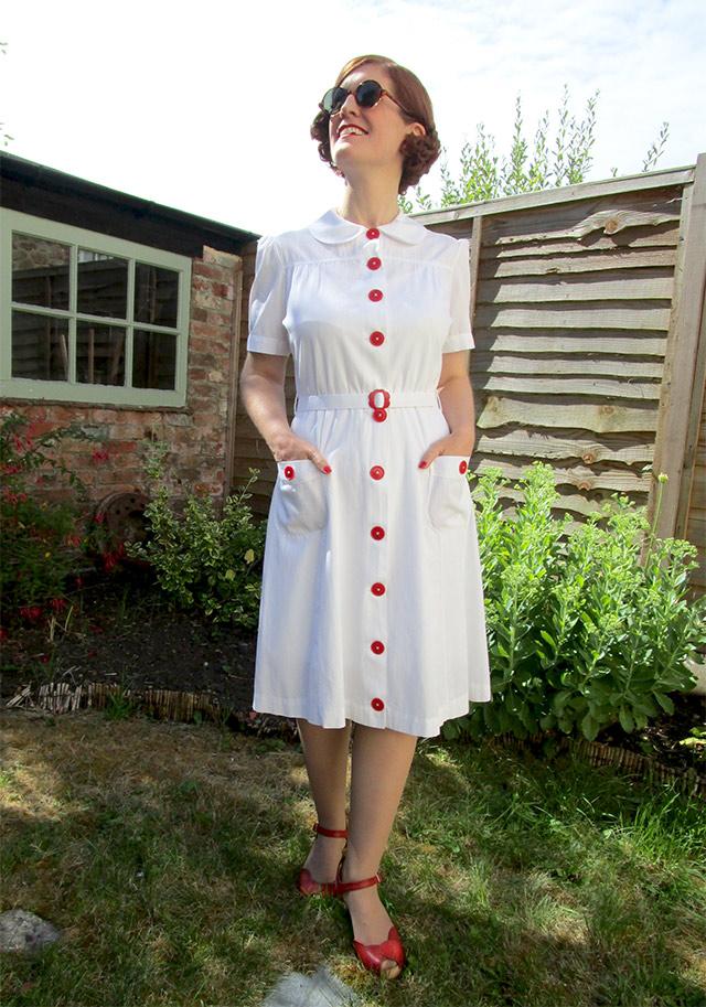 1930s waitress dress