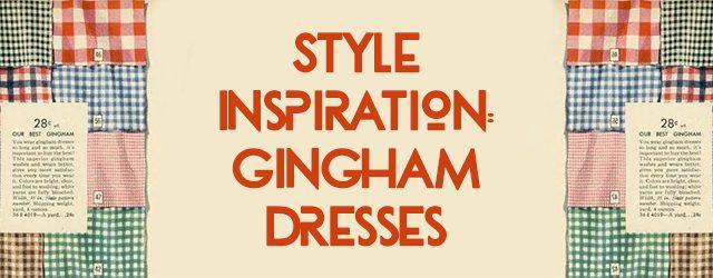Gingham inspiration