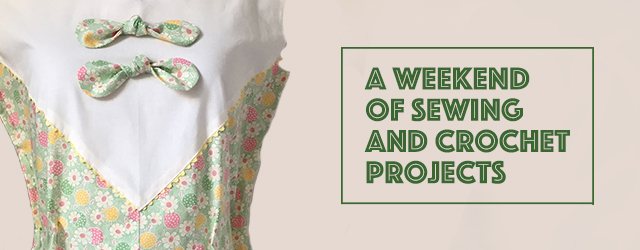 1930s sewing and crochet projects