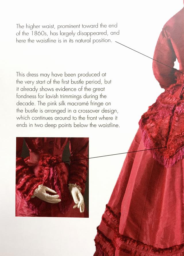 1860s dress detail