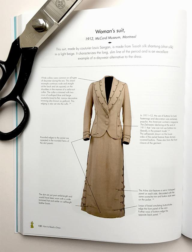 1912 women's suit