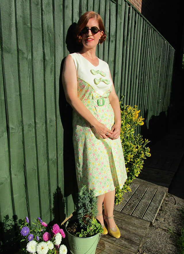 1930s dust bowl dress