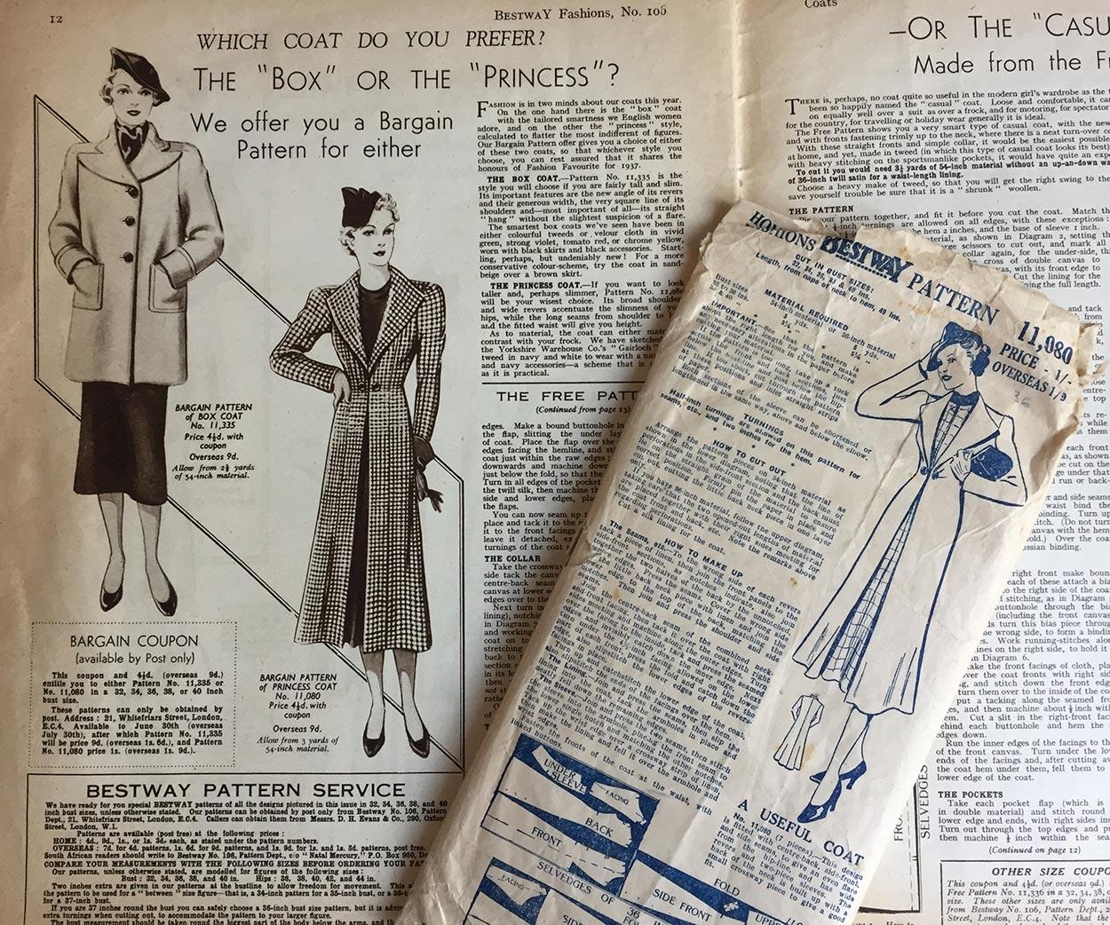 Bestway Fashions No. 106, March 1937