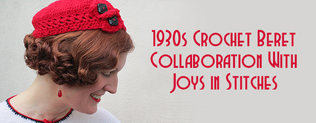 1930s crochet beret - Joys in Stitches