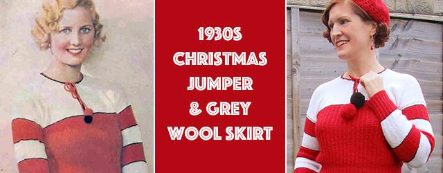 1930s Christmas jumper