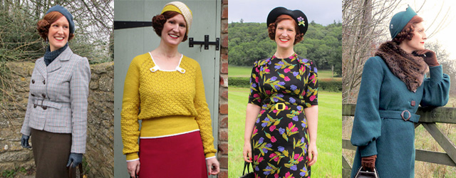 2017 review of my 1930s outfits