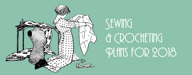 1930s sewing & crocheting plans