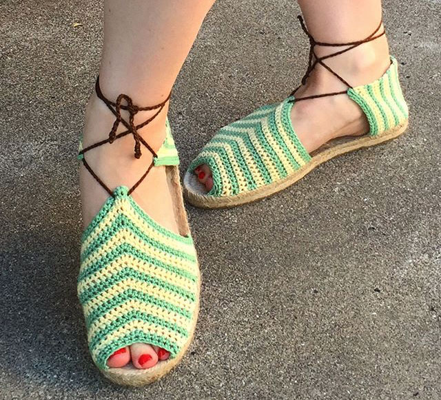 Duchess of Hutch crochet sandals