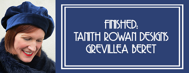 Tanith Rowan Designs Grevillea Beret