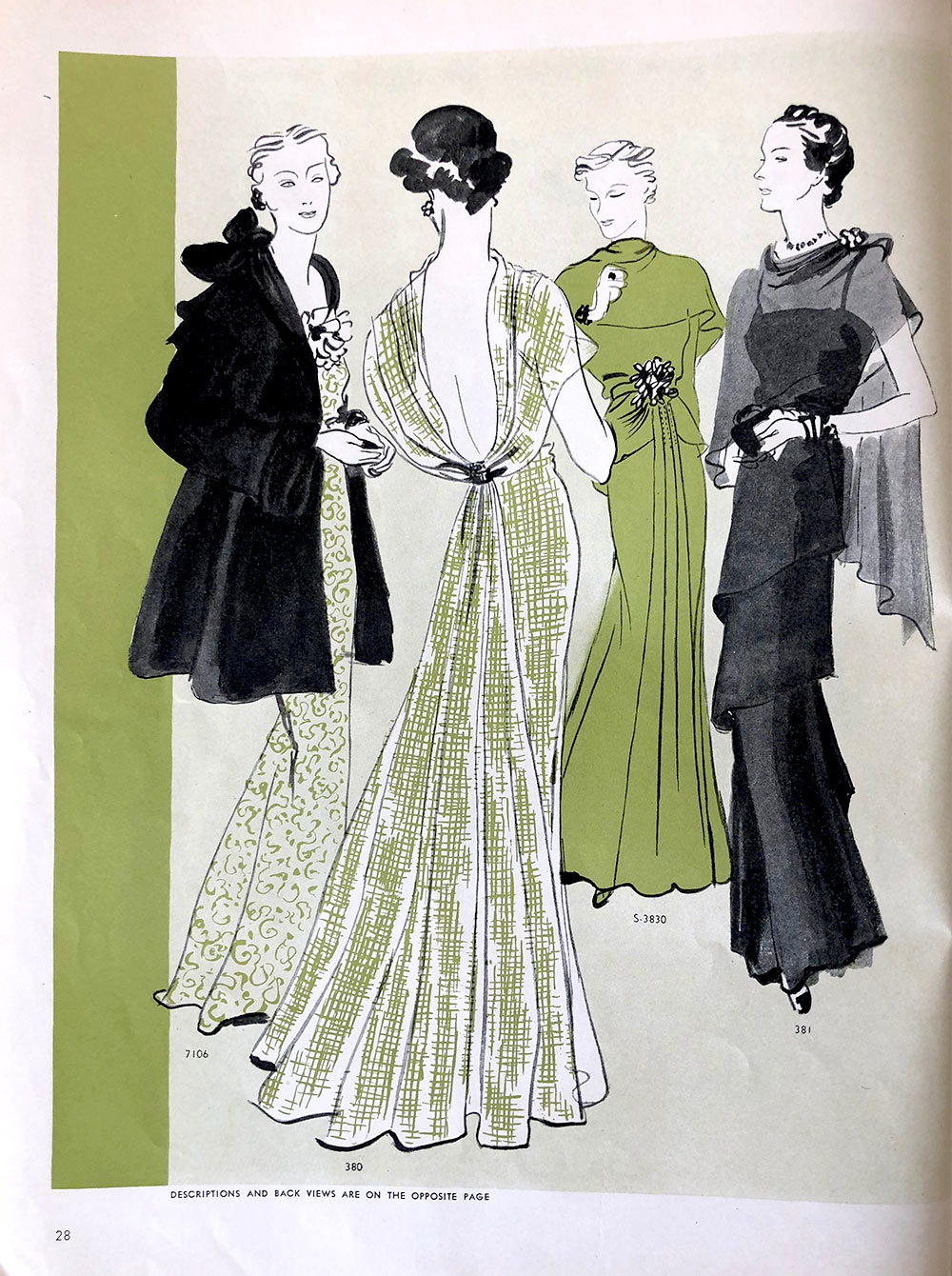 Vogue Pattern Book - Oct - Nov 1935