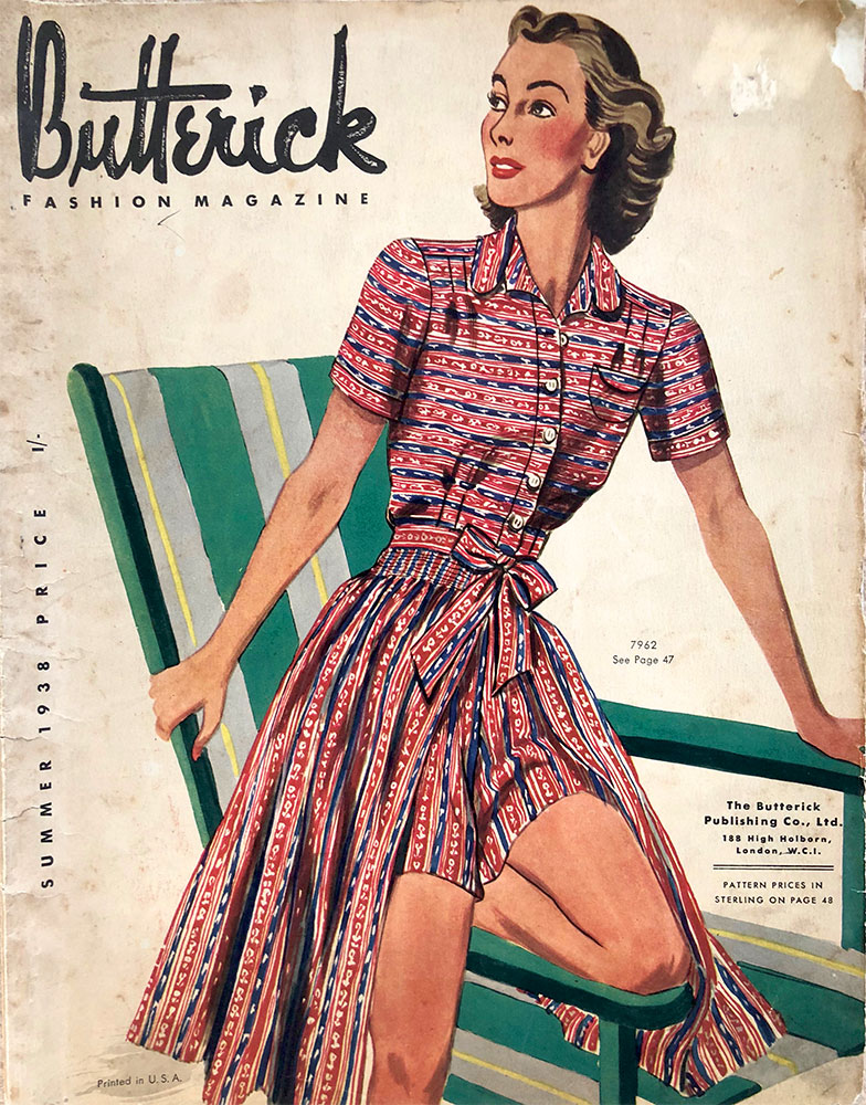 Butterick Sewing Pattern Book - Summer 1938 (Part 1) - Vintage Gal